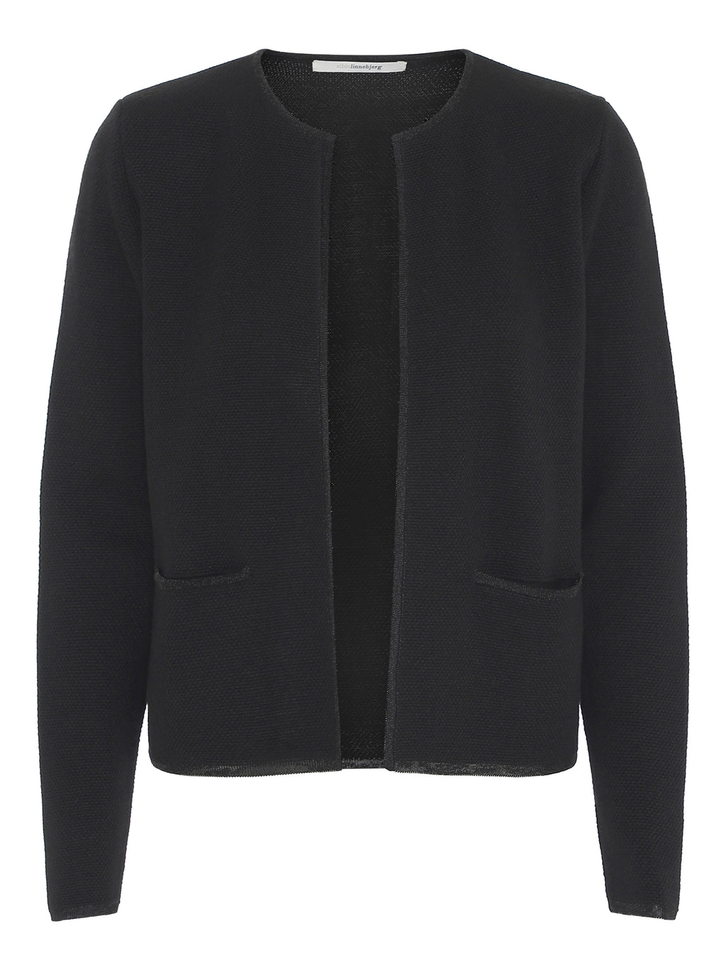 Chantal Cardigan Sort - Cardigan - Sibin Linnebjerg
