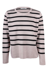Eloise Sweater Stribet - Sweater - Sibin Linnebjerg
