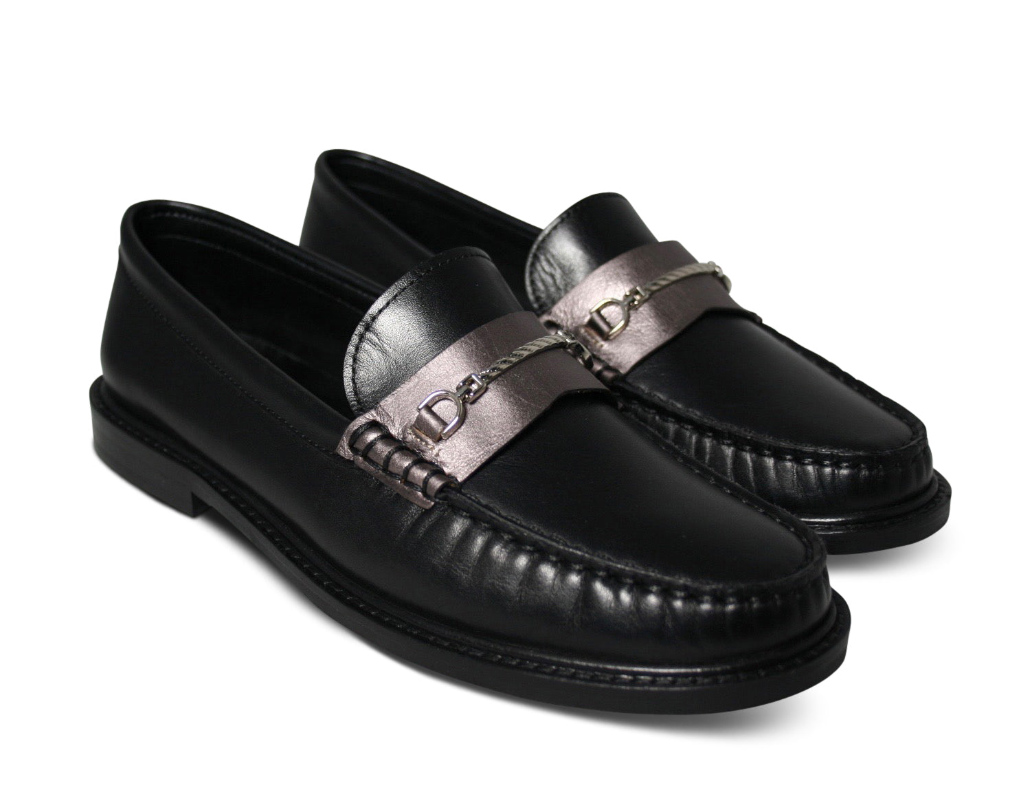 Agnello Loafers I Napa Nero