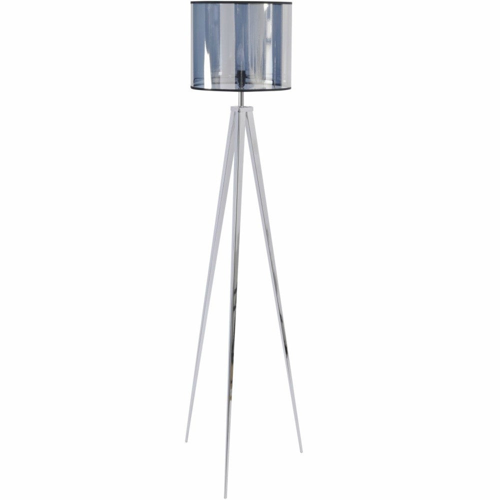 Chrome Tripod Floor Light