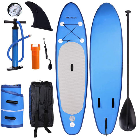 ANCHEER Inflatable Stand Up Paddle Board 10' SUP Board Double Layer