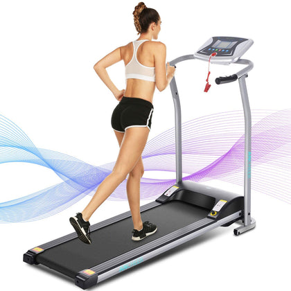ANCHEER Folding Treadmill for Home Indoor Exercise Machine Trainer