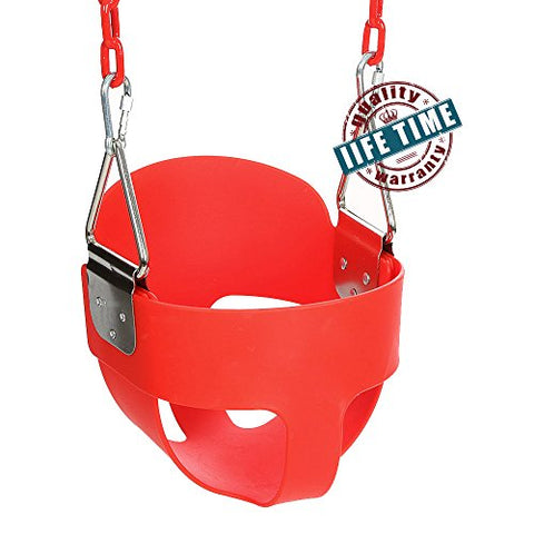 Ancheer Toddler High Back Full Bucket Swing Seat