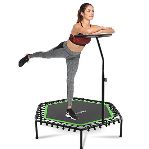 "Ancheer 50"" Trampoline with Adjustable Handrail"