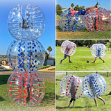 ANCHEER Inflatable Bumper Bubble Soccer Ball Dia 4/5 ft(1.2/1.5m)