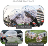 ANCHEER Transparent Inflatable Bumper Bubble Soccer Ball for Adults and Teens