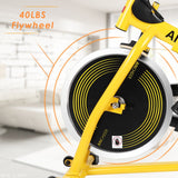 ANCHEER Indoor Cycling Bike, Spin Bike With Pulse