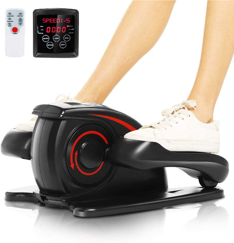 ANCHEER Desk Elliptical Trainer Machine Under Pedal Exerciser Sitting Stepper