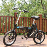 ANCHEER Folding Electric Commuter Bike 16'' City Ebike