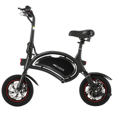 ANCHEER Folding Electric Bicycle E-Bike Scooter 350W Powerful Motor
