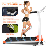 ANCHEER Folding Treadmill Walking Running Machine for Home Gym
