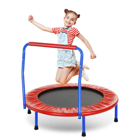 ANCHEER Kids Trampoline 36'' Mini Toddler Rebounder Trampoline