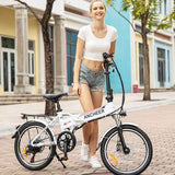 ANCHEER 20 Inch Electric Bicycle Ebike with 250W Motor