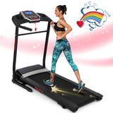 ANCHEER Folding Treadmill for Home with Smartphone Sports APP
