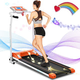 ANCHEER Compact Treadmills with LCD Monitor Motorized