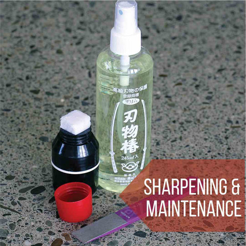 Tool sharpening and maintenance