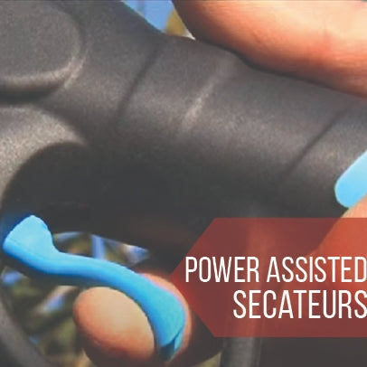 Power assisted secateurs