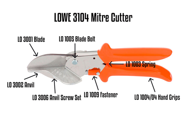 Lowe 3104 Parts Guide