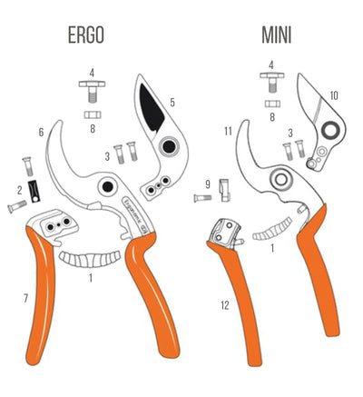 SPARE PARTS - SECATEURS