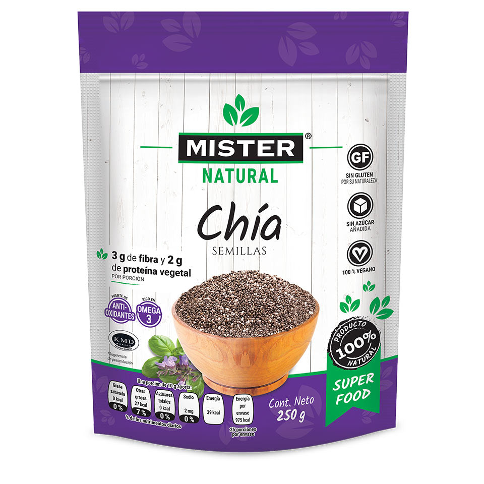 Chia Semillas Mister Natural