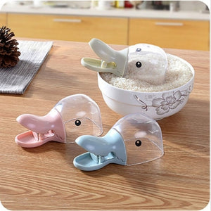 Cute Rice Measuring Cup Cereals Rice Bags Sealing