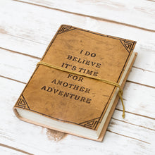 Load image into Gallery viewer, Another Adventure Blonde Handmade Leather Journal