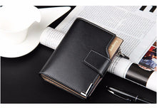 Load image into Gallery viewer, men wallets purse short male clutch