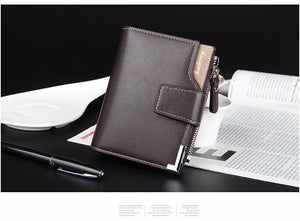 men wallets purse short male clutch