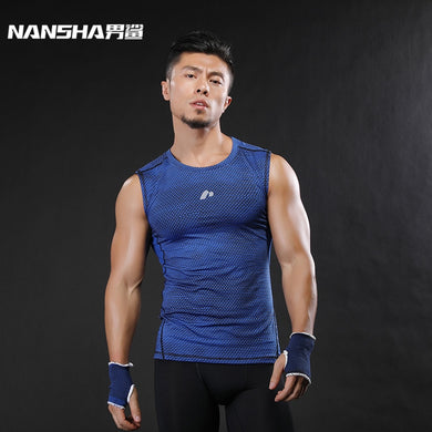 Men Bodybuilding Sleeveless Shirt