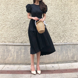 Puff Sleeve Irregular