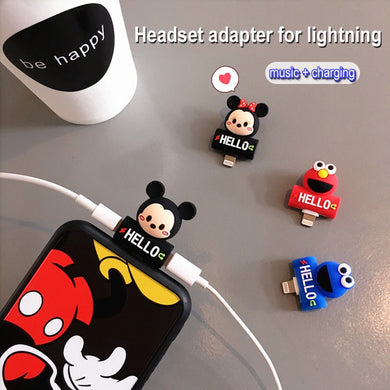Cute Earphone/Charger  Splitter for APPLE