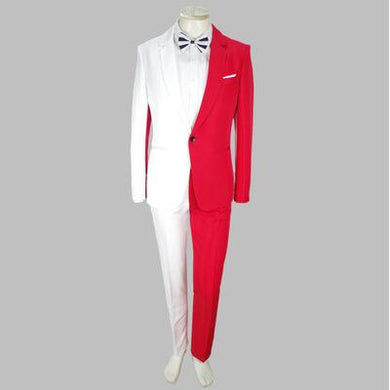 (Jacket+Pants) Luxury Male personality Party Blazers