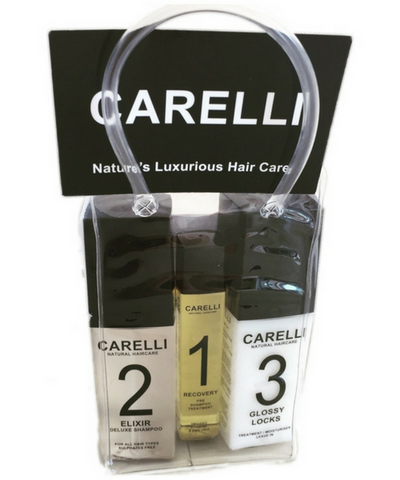 Carelli Gloss Treatment/ conditioner / blow dry creme