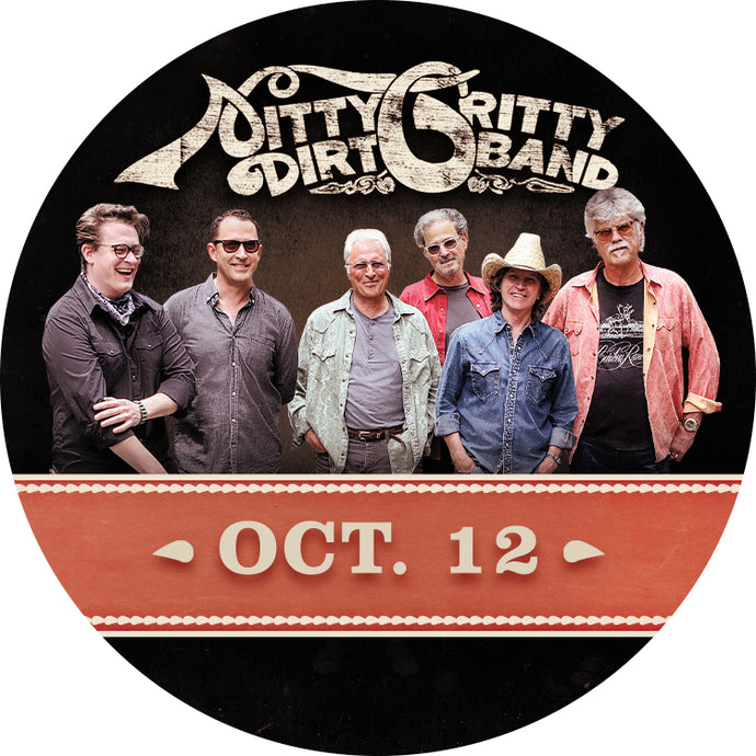 Nitty Gritty Dirt Band M&G Upgrade: October 12 - North Truro, MA