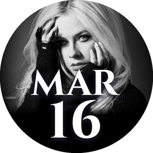 Avril Lavigne Autographed Merchandise Bundle Upgrade: 16 March - Milan, Italy