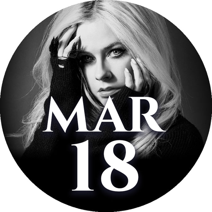 Avril Lavigne Autographed Merchandise Bundle Upgrade: 18 March - Brussels, Belgium