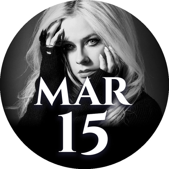 Avril Lavigne Autographed Merchandise Bundle Upgrade: 15 March - Milan, Italy
