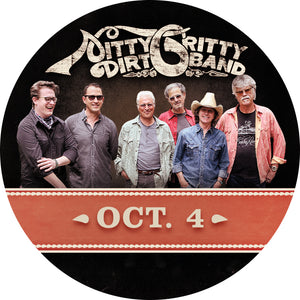 Nitty Gritty Dirt Band M&G Upgrade: October 4 - Charlottesville, VA