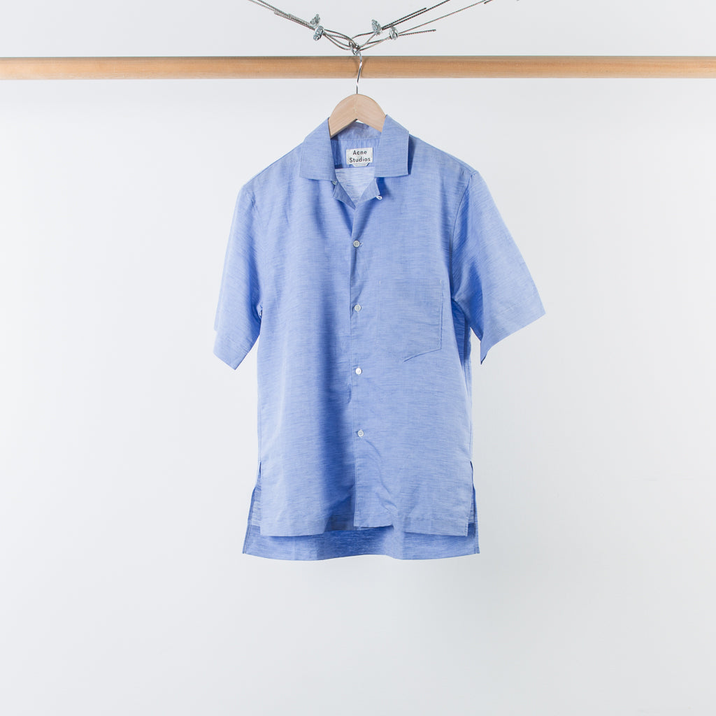 ARCHIVE SALE - ACNE STUDIOS - ELMS CHAMBRAY SHIRT LIGHT BLUE