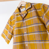 ARCHIVE SALE - ACNE STUDIOS - ELMS SHIRT MUSTARD CHECK