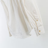 ARCHIVE SALE - ACNE STUDIOS - ISHERWOOD SOFT POPLIN STRIPE BEIGE
