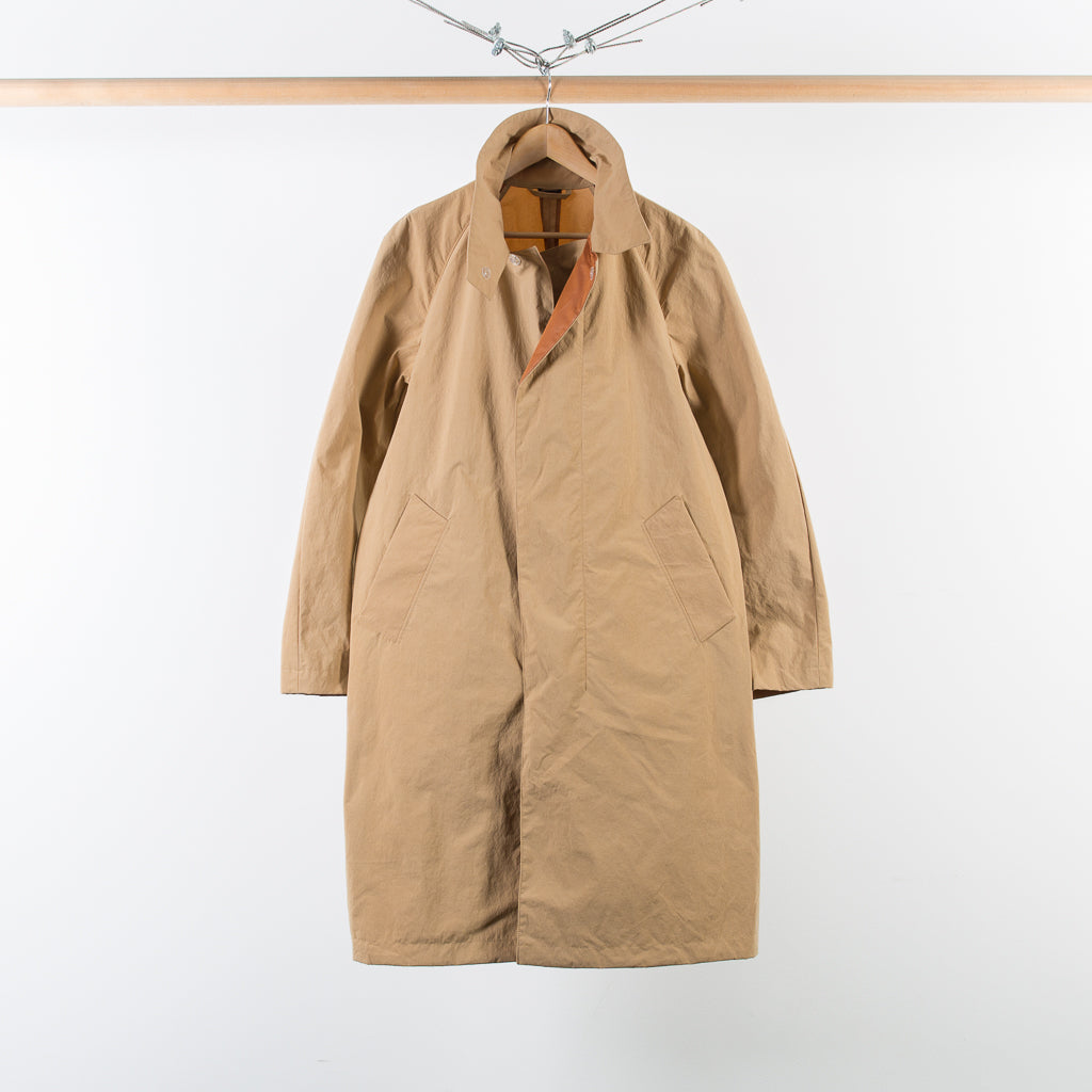 ARCHIVE SALE - ACNE STUDIOS - MONITOR PAPER BAG COAT BROWN