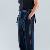 SIDE-TIE TROUSER - AFRICAN COUNTRY CLOTH