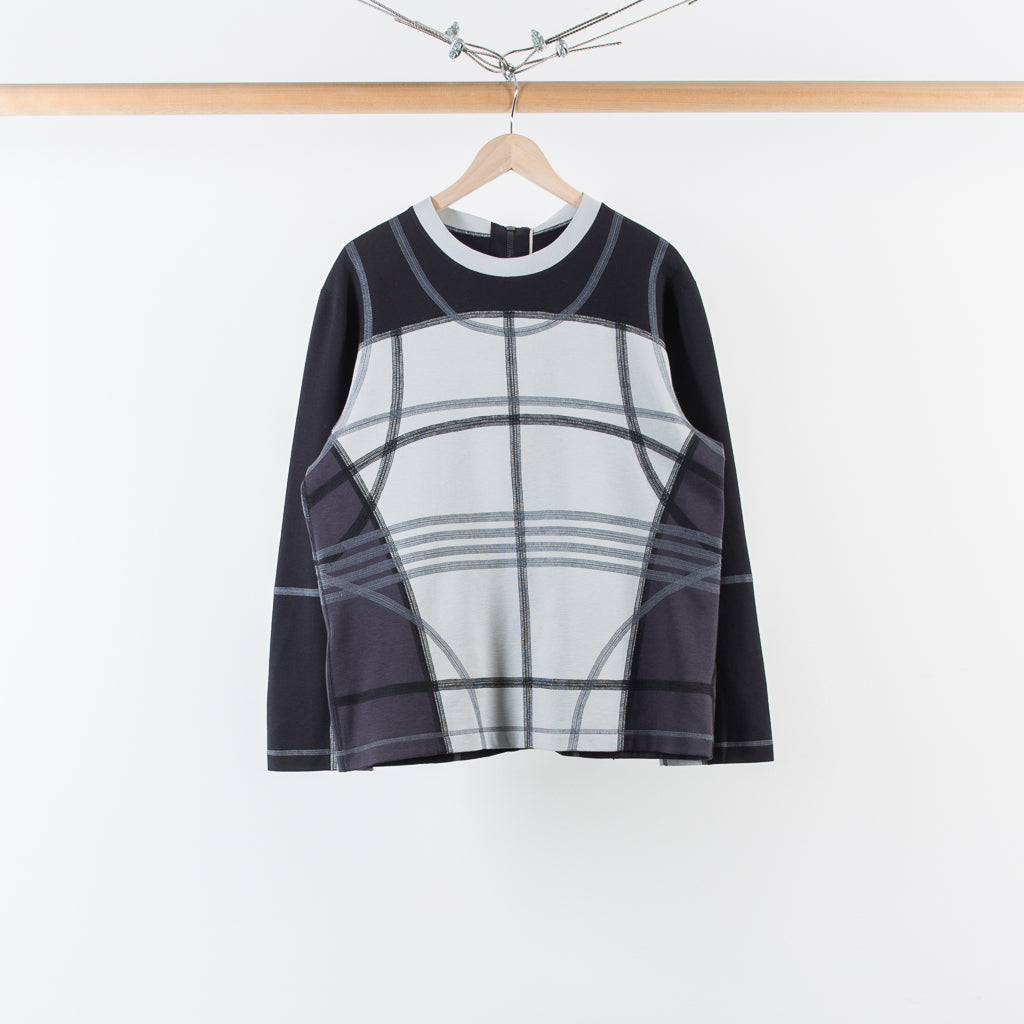 ARCHIVE SALE - CRAIG GREEN - GREY PANELED TOP