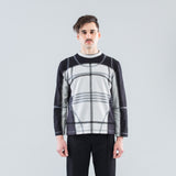 PANELED SWEATSHIRT - GREY