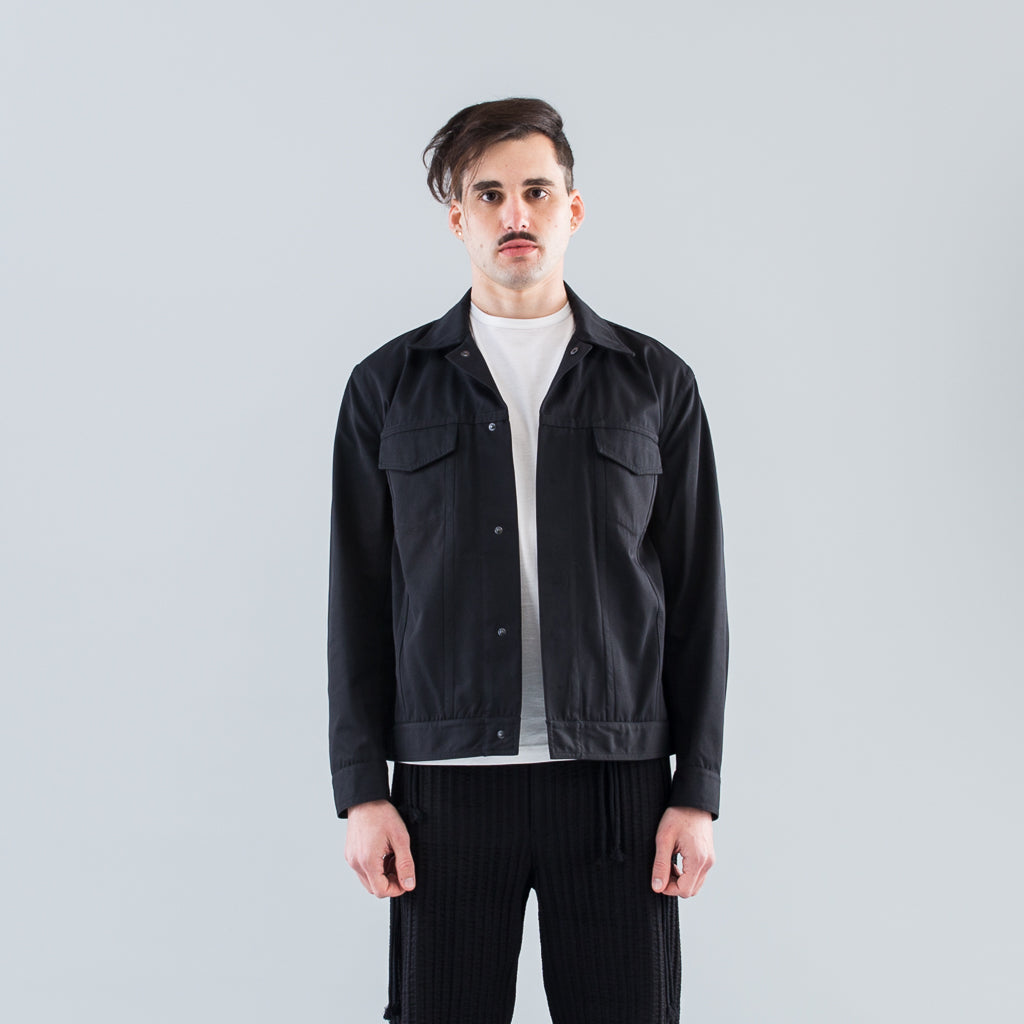 UNIFORM JACKET - BLACK