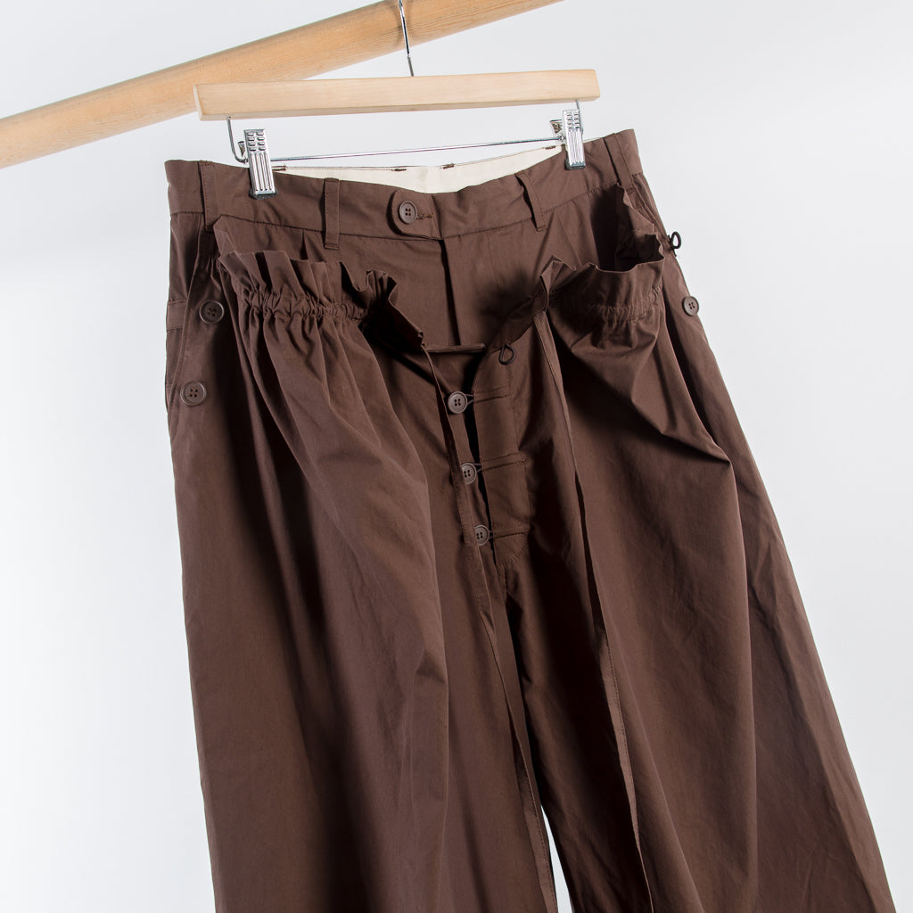 ARCHIVE SALE - CRAIG GREEN - PYJAMA TROUSERS BROWN