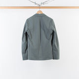 ARCHIVE SALE - CHRISTOPHE LEMAIRE - SOFT JACKET SMOKE GREEN SEERSUCKER