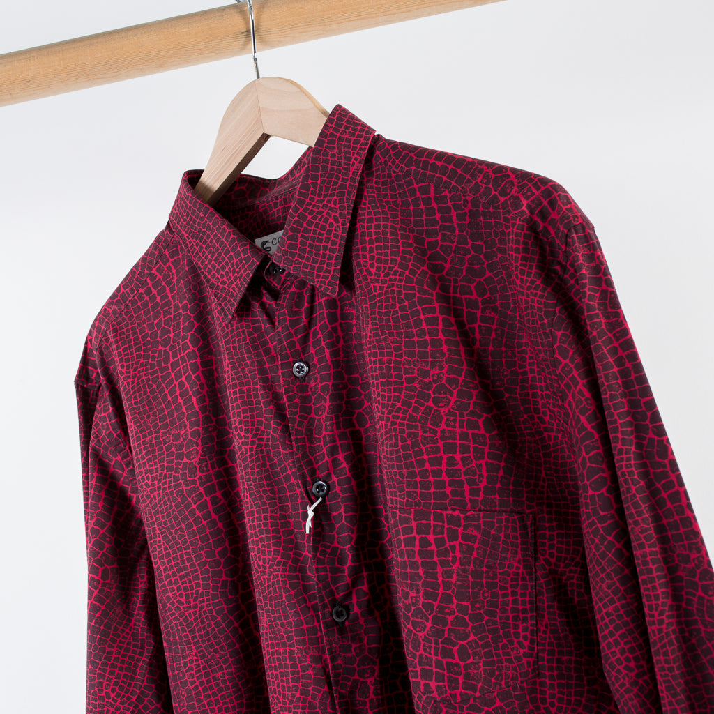 MODEL 1 SHIRT RED CAIMON PRINT