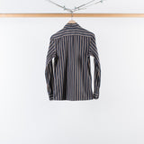 ARCHIVE SALE - COBRA S.C. - ANGELO SHIRT BLACK RUST STRIPE
